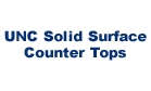 UNC Solid Surface Counter Tops