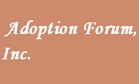 Adoption Forum