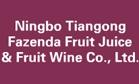 NIngbo Tiangong Fazenda Fruit Juice & Fruit Wine Co., Ltd