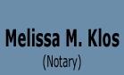Melissa M. Klos