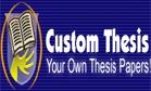 Custom Thesis Writing Logo