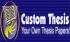 Custom Thesis Writing