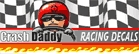 Crash Daddy Racing Decals LLC Logo