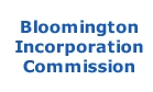 Bloomington Incorporation Commission
