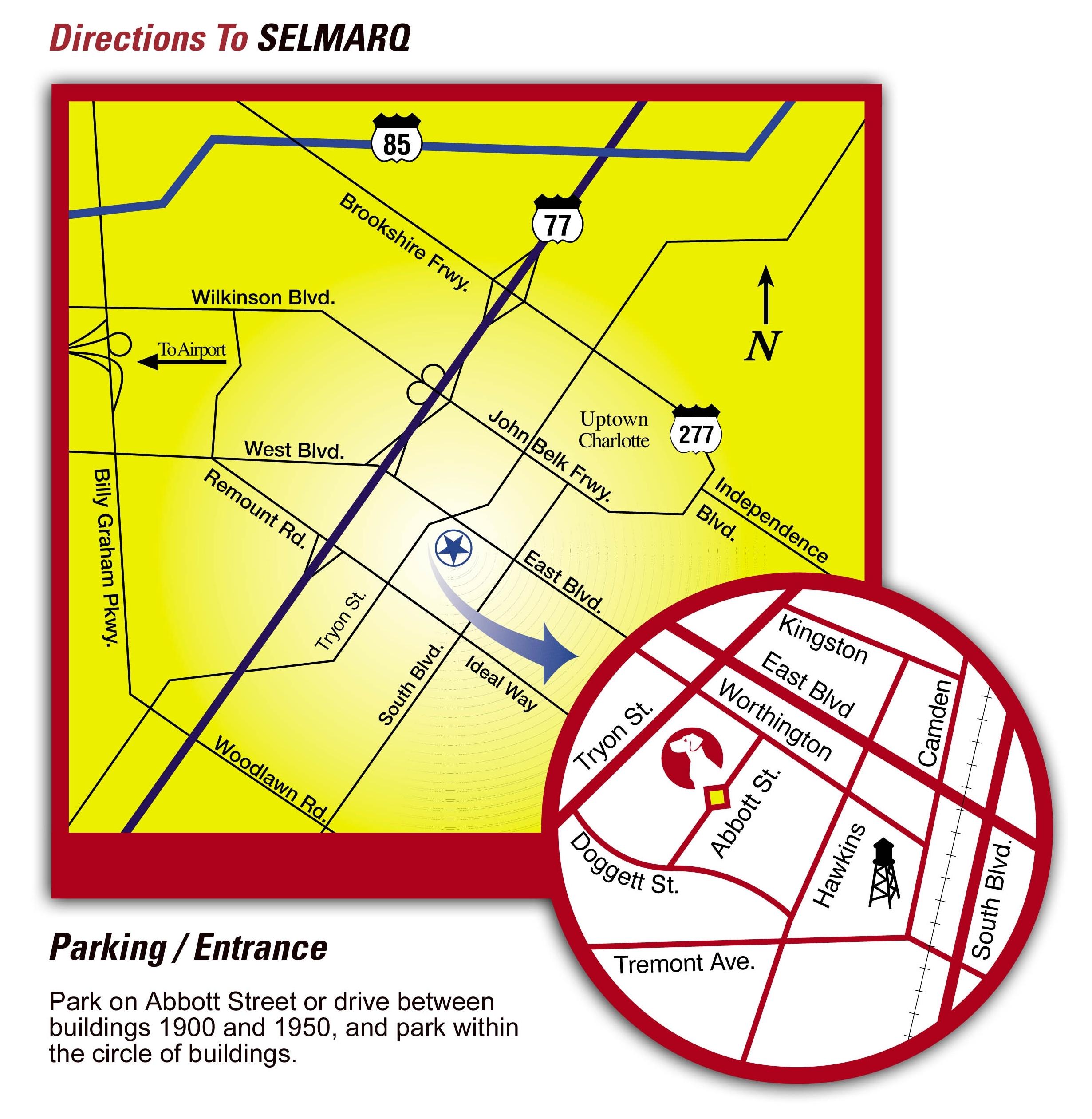 Map to Abbott St. Image