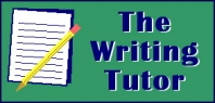 The Writing Tutor Overview