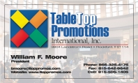 TableTop Promotions Intl., Inc. Overview