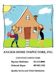 Anukis Home Inspectors, Inc. Overview