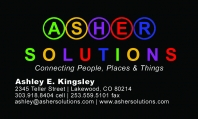 Asher Solutions Overview