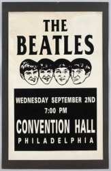 Earliest Known US Beatles Concert Poster to be Auctioned