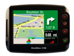 New Portable GPS Navigation System with Music Player, and Picture Viewer