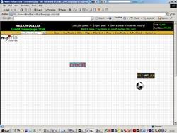 Pixel Micro-Ads Goes Mainstream with MillionDollarCreditHomepage.Com
