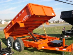 Get Ready for Spring with a New Selection of Dump Trailers, Equipment Trailers and Landscape Trailers at All Pro West