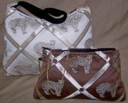 Cami's Collection Introduces Silk Blend Jaguar Hobo and Evening Handbags