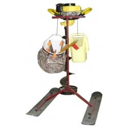 Introducing the Auger Buddy Power Ice Auger & Ice Fishing Equipment Carrier Sled