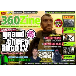 GTA IV and Fable 2 Previewed in Issue 5 of Free Xbox 360 Magazine