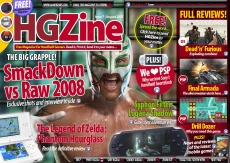 WWE Smackdown vs RAW 2008 Exclusive in Free PSP and DS Gamers Magazine