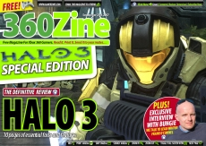Halo 3 Review and Bungie Interview in 360Zine Special Edition to celebrate the Launch of Halo 3