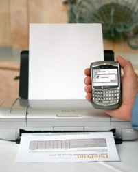 Print Functions for BlackBerry via Subscription