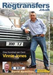 Free Celebrity Personal Number Plates Magazine is Out Now