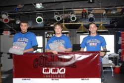 Jim Hughes and Royce Gracie New England MMA Host College MMA Challenge Championships Friday June 13 at The Log Cabin in Holyoke MA 6:00 pm