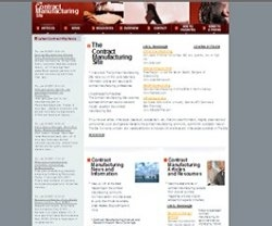 The Contract Manufacturing Site Debuts at www.theContractManufacturingSite.com