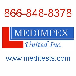 New Drug and Alcohol Testing Services from Medimpex United Inc.