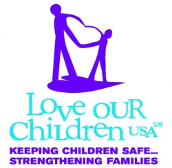 """""""Get Blue"""" – Love Our Children USA's National Effort to Educate America During April, National Child Abuse Prevention Month"""