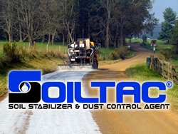 Soiltac® Soil Stabilizer and Dust Control Agent Utilized for ADOT Unpaved Road Projects