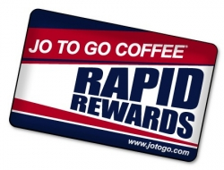 Jo To Go Coffee® Introduces the Rapid Rewards Card