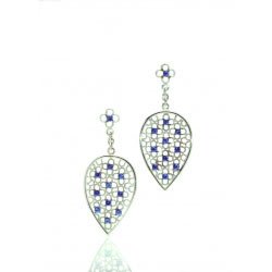 Sri Lanka Produces the World's Best Sapphires, Found in Crysobel Earrings