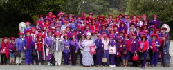 3rd Annual Red Hat Society Day at the San Francisco Zoo