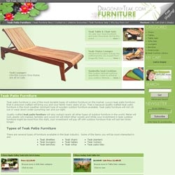 Dragonfly Teak Reports Record Sales