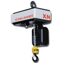 Konecranes' New XN Electric Chain Hoist is Cost-Effective and Reliable