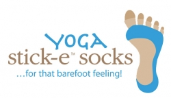Yoga Stick-E Socks...for That Barefoot Feeling - Eco Friendly and Not Just for Yoga