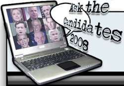 Artificial Intelligence in Politics - AskTheCandidates2008.com