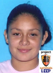 Amber Alert Issued for Miami - Dade Girl (Diana Diaz -14)