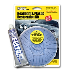 Flitz International Introduces Headlight & Plastic Restoration Kit. Fast, 1-Step Process is Easy-to-Use, Saves Time & Money