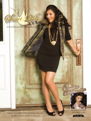 "LicenZing LLC ""Tops the Charts"" for their Sweet Vibes Lux Client and Signs with Paula DeAnda for Fall/Holiday 2007 Ad Campaign"