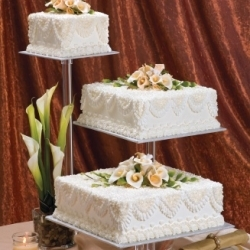 Safeway's Seattle Division Showcases Wedding Cakes Highlighting New Designs on WedNet.com