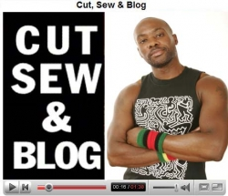 Cut, Sew and Blog - Fashion Designer Malcolm Harris Debut's New Video and Text Blog