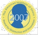 American Institute of Stress 2007 Awards for Distinction and Innovation