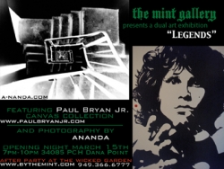 Paul Bryan Jr. and Ananda Moorman-Art Opening at the Mint Gallery