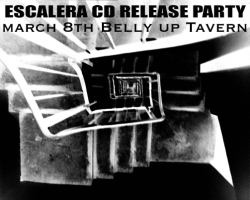 Escalera CD Release Party March 8th @ Belly Up Tavern - Danny Way, Bob Burnquist, and Ananda Moorman's Band Escalera Release First Album