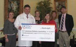 DentistryForDiabetics Donates $10,000 to American Diabetes Association for Patient Education