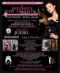 The Sean Maxwell Project Presents a Diversity of Talents Fashion Show Supporting the Fight Against Breast Cancer. Special Performances by Diana DeGarmo of American Idol.
