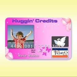 Credit Card Gives Mom Huggin' Credits