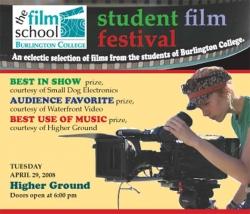 The 8th Annual Burlington College Student Film Festival