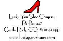 Lucky You Shoe Company (Luckyyoushoes.com) Says