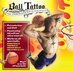 New Invention Lets Everyone Tattoo their Sport Balls